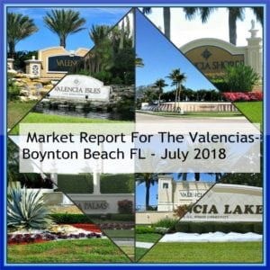 Home Sales in the Valencias | boynton beach florida
